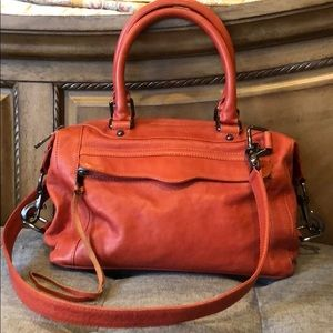 Rebecca Minkoff Orange Bag with Strap